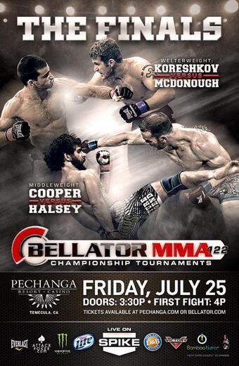 Bellator 122: Koreshkov vs. McDonough Bellator-122